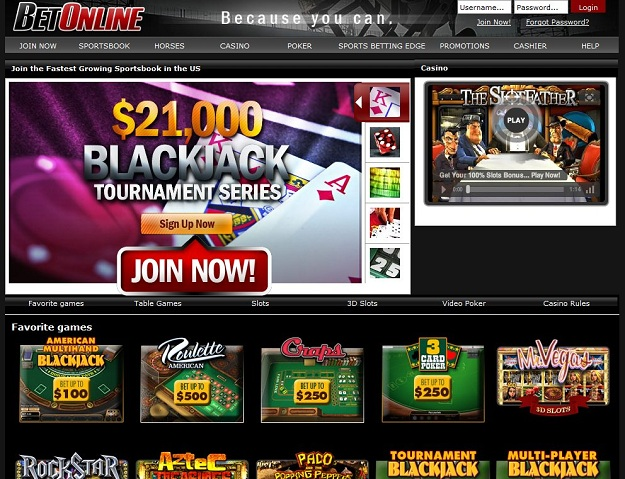 BetOnline.com Casino
