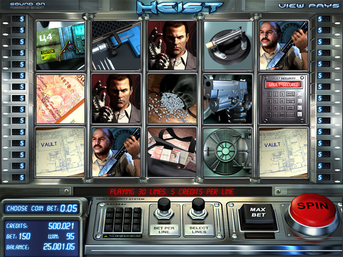 Art of the Heist Slot Machine - Play for Free & Win for Real