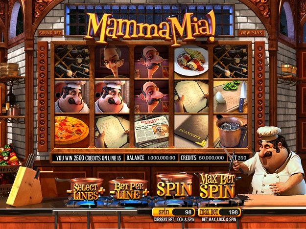 Mamma Mia Slot Machine