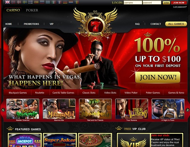 Free to Play Red7 Slot Machine Games