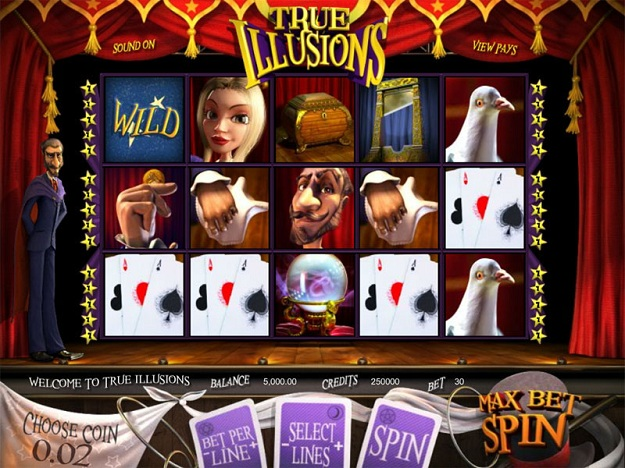 True Illusions Slot Machine